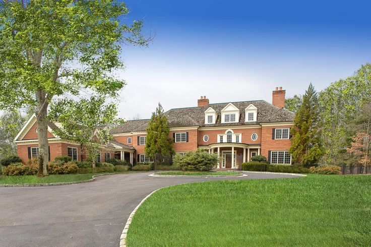 Classic Elegance: 215 Bedford Banksville Road, Bedford. Convenient to Bedford, NY & Greenwich, CT, this impressive masonry residence offers a sophisticated lifestyle in the Byram Hills School District.