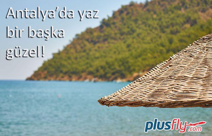 Yaz geldi Antalya plajları cıvıl cıvıl en uygun #Antalya #uçakbileti plusFLY.com'da Biletini hemen sayın al yazın tadını çıkar.! #antalya #uçakbileti #plaj #tatil #keyif #holiday #konyaaltı https://plusfly.com/antalya-ucak-bileti/