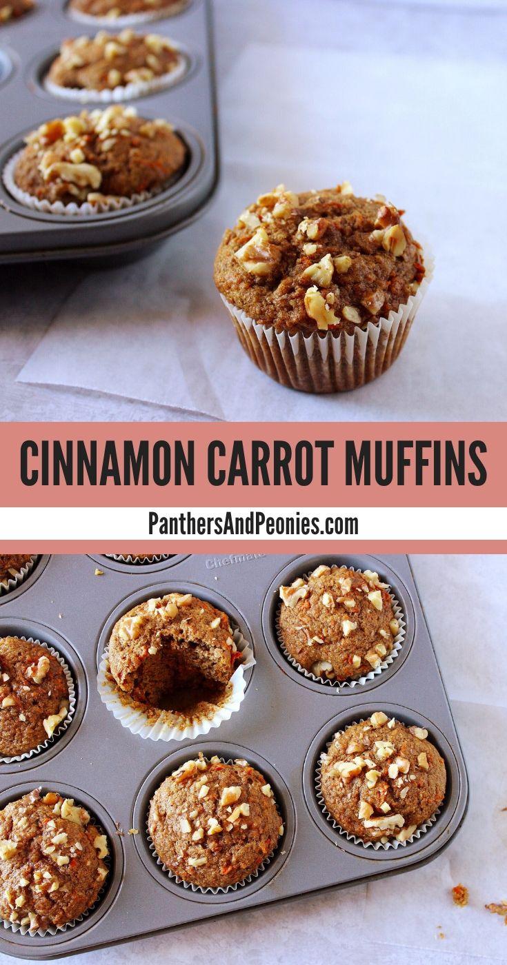 Cinnamon Carrot Muffins Vegan Recipe Carrot Muffins