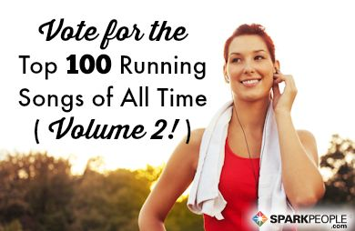 The Best Running Songs of All Time (Volume Two!) | SparkPeople