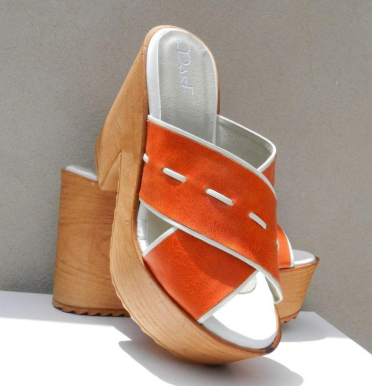 Model NOE (Naranja) - MarF Zapatos