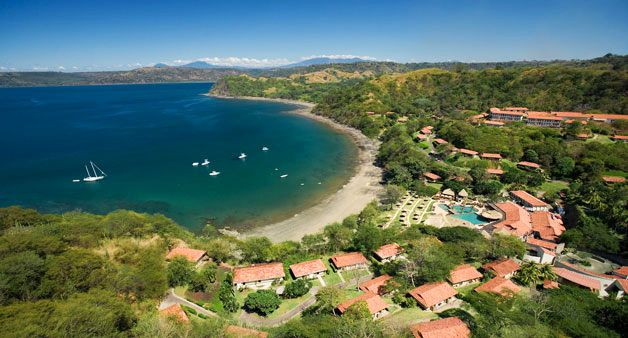 A stunning aerial shot of Secrets Papagayo Costa Rica located on the Papagayo Peninsula in Guanacaste, Costa Rica!