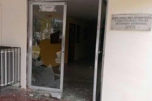 Incendiaron comando policial e hirieron a siete PNB en Zulia