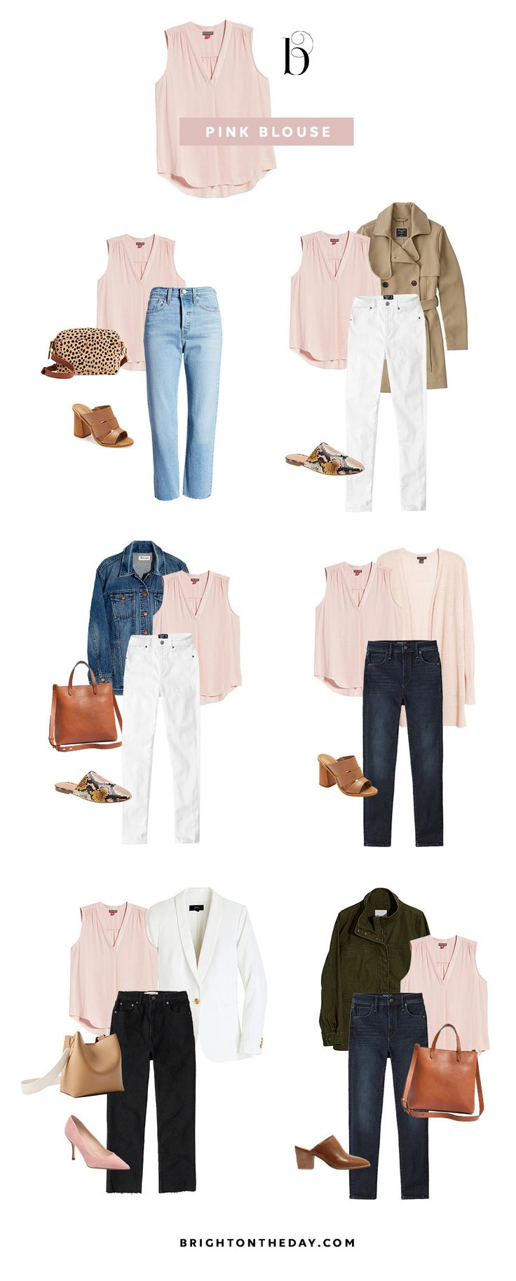 How To Easily Create Endless Outfits For Your Spring Vacation