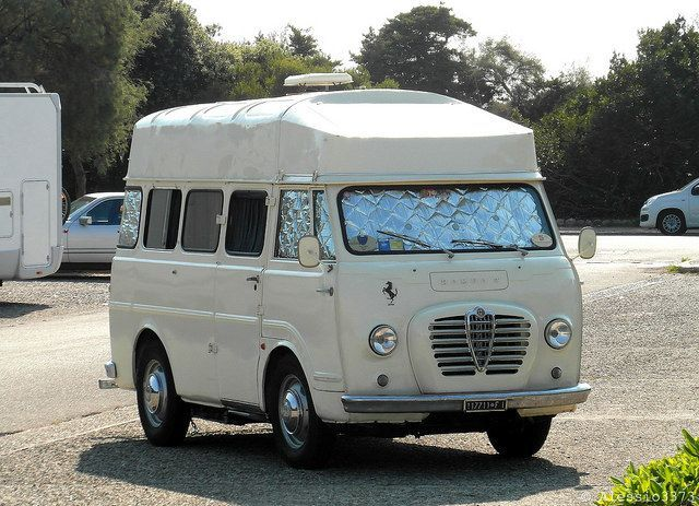 Alfa Romeo Van ,Romeo 2, Camping Araba