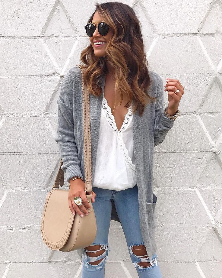 """777 Likes, 4 Comments - Lookastic (@lookastic) on Instagram: """"A simple yet stylish laid-back look for the weekend #summerstyle #cardigan"""""""