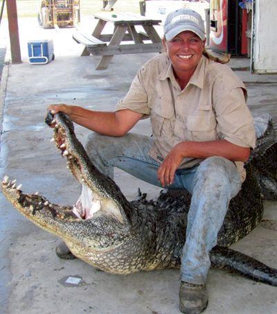 Gator Queen Liz Cavalier-Swamp People