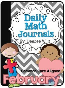 Daily Math Journals are a great way to review reinforce math concepts in a creative way. This download includes math journal labels, instructions for setting up your math journals, and over 25 prompts for the month.