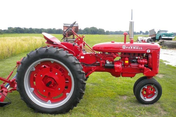 Restored 1953 Farmall Super C Tractor For Sale