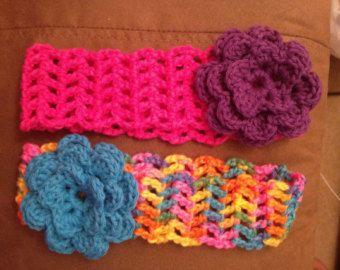 Items similar to Cotton crocheted headband on Etsy