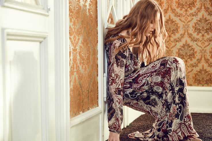Odette maxi dress  Dea Kudibal AW16 // La Femme Allure