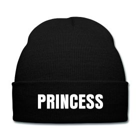 Princess Beanie - Available Here: http://sondersky.spreadshirt.com.au/princess-A18464248