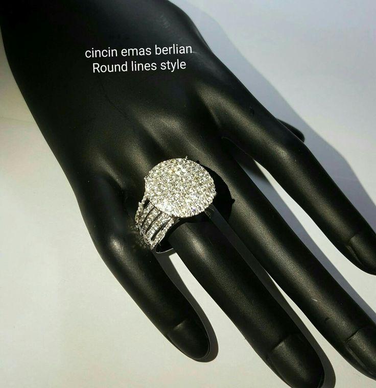 New Arrival🗼. Cincin Emas Berlian Round lines style💎💍. 🏪Toko Perhiasan Emas Berlian-Ammad 📲+6282113309088/5C50359F Cp.Antrika👩. https://m.facebook.com/home.php #investasi#diomond#gold#beauty#fashion#elegant#musthave#tokoperhiasanemasberlian