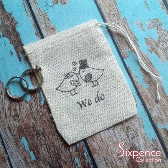 We do wedding birds ring bag. Ring pillow alternative ring
