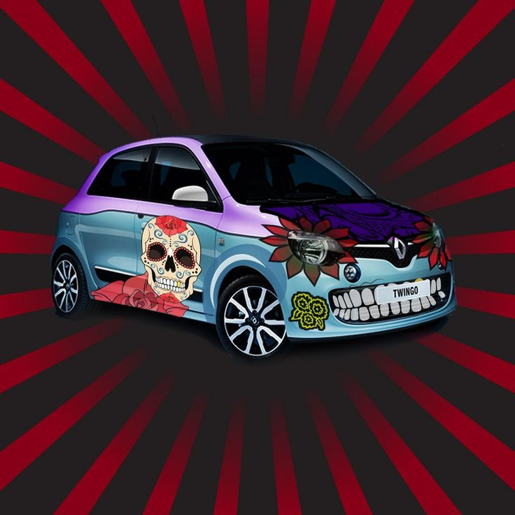 Explore a Halloween less ordinary with the All-New Renault Twingo