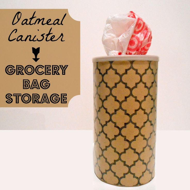 ♻️Recycle Oatmeal Containers♻️