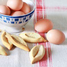 Les navettes provençales - gâteaux de Noël. Plus d'idées recettes spécial Noël ici : http://www.enviedebienmanger.fr
