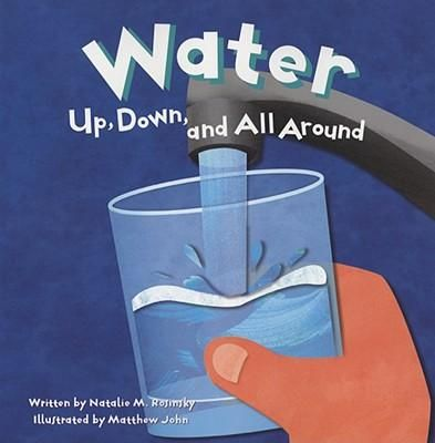 Describes the water cycle and the importance of water, explaining evaporation and condensation, dew and frost, and the three states of water.