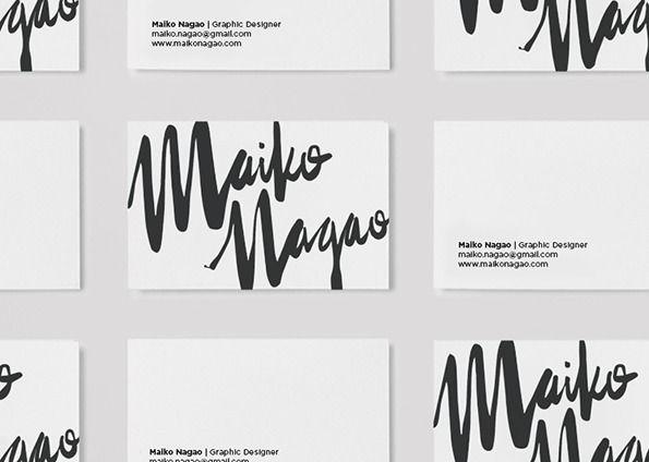 Maiko Nagao: New branding design by Maiko Nagao — Designspiration