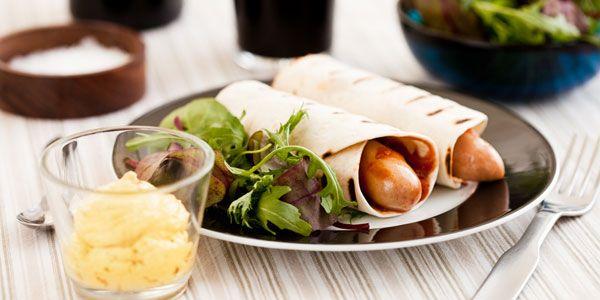 Mexico hotdog med remoulade