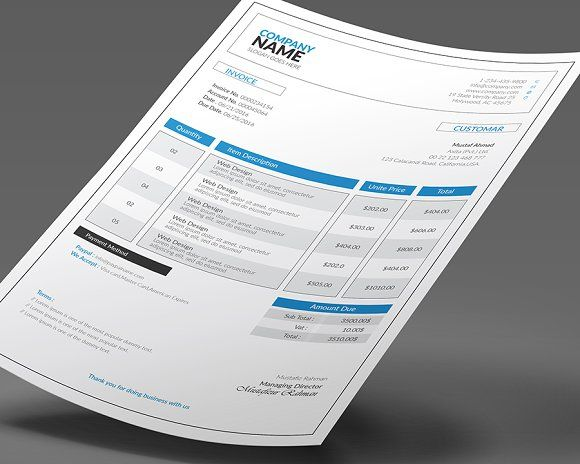20 best Invoice Template images on Pinterest Invoice template - free receipts online