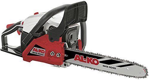 AL-KO BKS 4040 Tronçonneuse 1,5 kW: Price:179Parfait pour l'usage en maison et dans le jardin. Tronçonneuse avec moteur essence de 1,5kW…