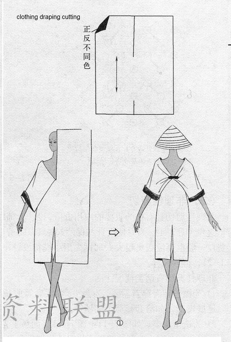 clothing draping cutting