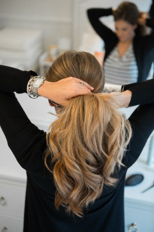 Messy Chignon Hair Tutorial | The Teacher Diva