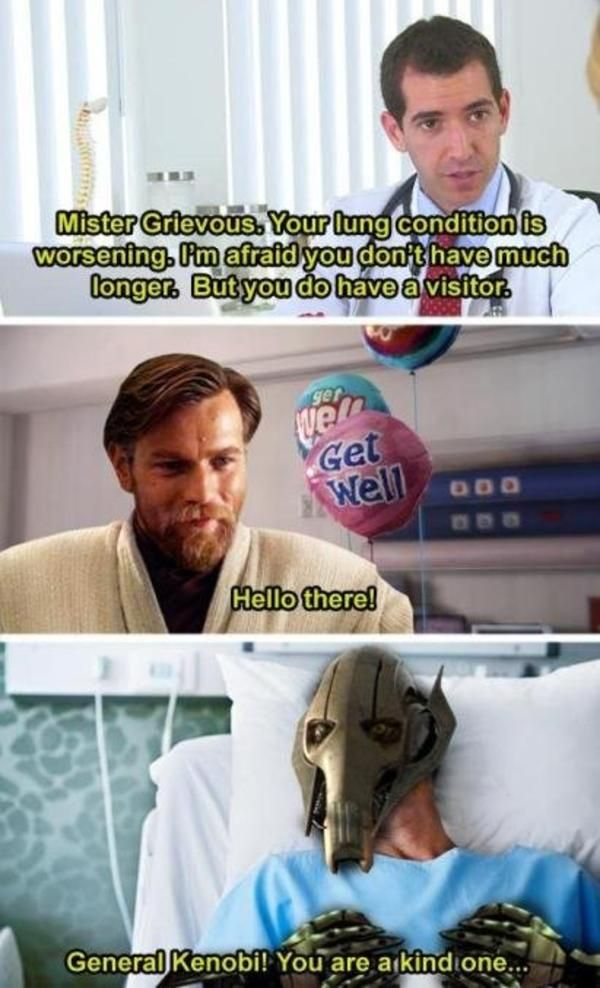 Kind One You Are General Kenobi Wholesome Memes Star Wars Humor Star Wars Facts Star Wars Memes
