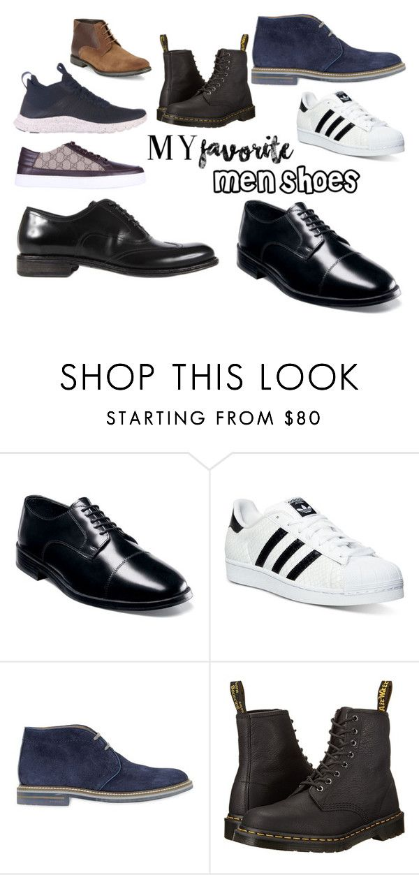 """Scarpe da Uomo"" by ilikeshoppingit ❤ liked on Polyvore featuring NIKE, Gucci, Dolce&Gabbana, Nunn Bush, adidas, Brimarts, Dr. Martens, BLACK BROWN 1826, men's fashion and menswear"
