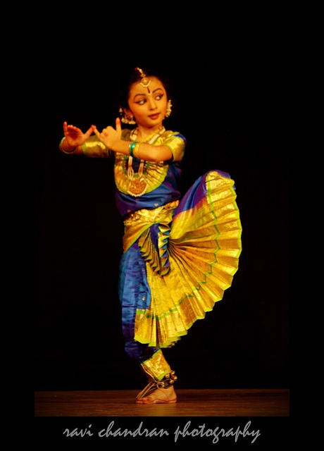 Bharatanatyam by Ravi Chandran R, via Flickr