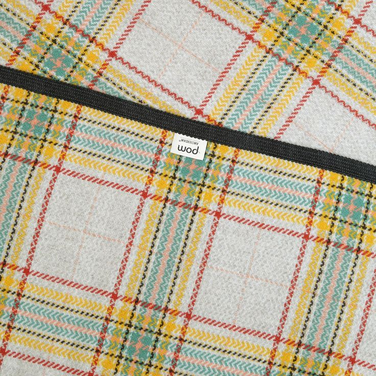 Scottish Wrap Yellow 204 | Officiële webshop | POM Amsterdam