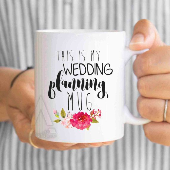 engagement presents This is my wedding planning mug by artRuss
