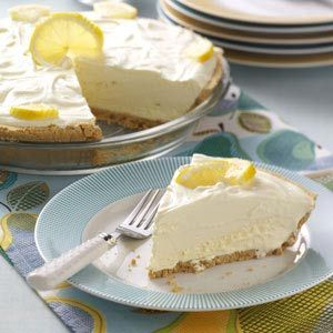 Lemonade Icebox Pie Recipe from Taste of Home -- shared by Cheryl Wilt of Eglon, West Virginia