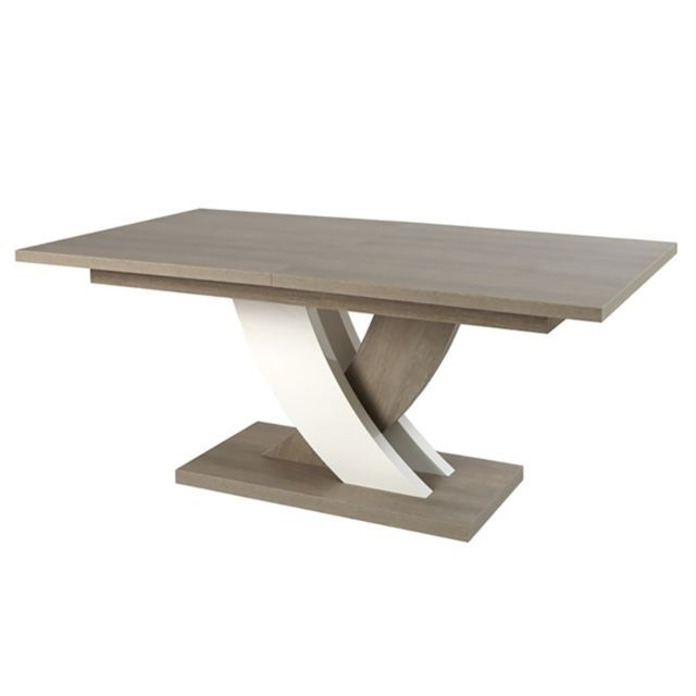 table de sejour ovale en bois table