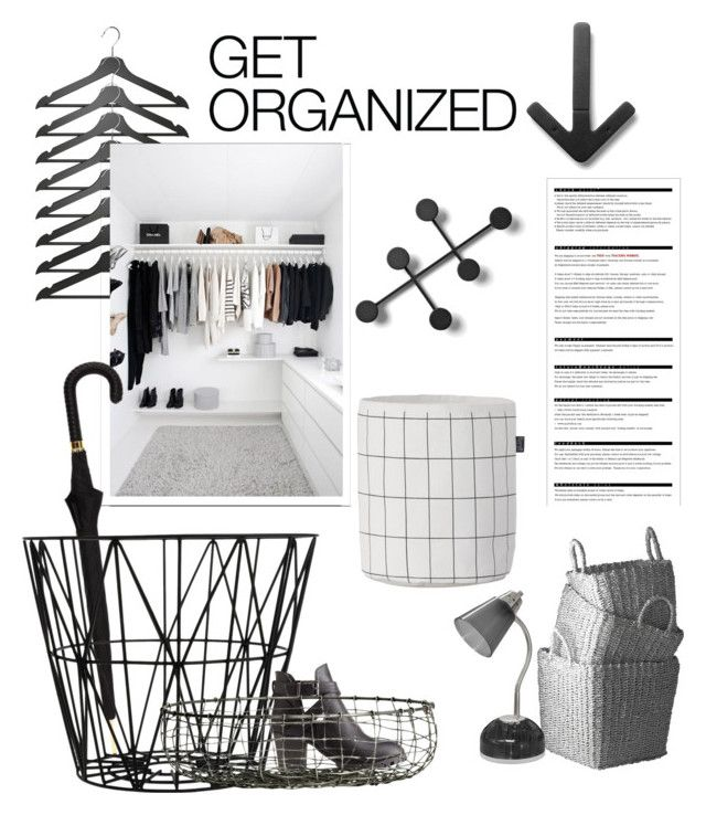 """""""Get organized"""" by teomuki ❤ liked on Polyvore featuring Design House Stockholm, Menu, Arche, ferm LIVING, Lazy Susan, Alexander McQueen, Charlotte Russe and H&M"""