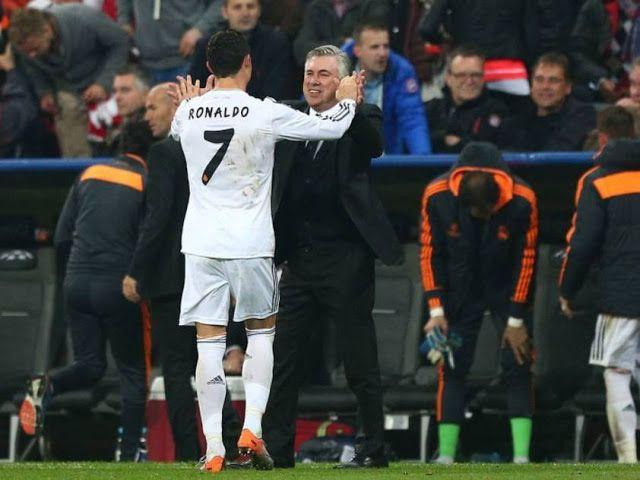 MVPDesportiva: Carlo Ancelotti está rendido a Cristiano Ronaldo!