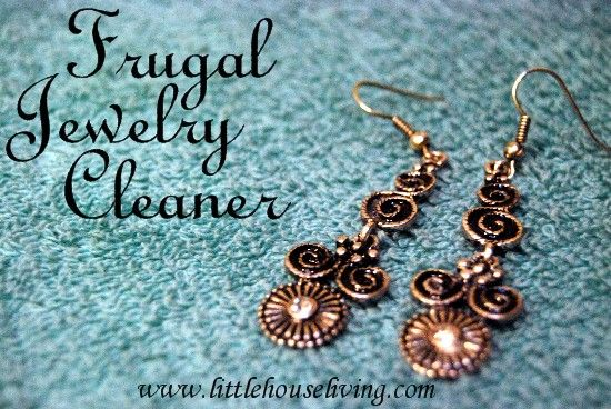 Homemade Jewelry Cleaner: check to see if safe first