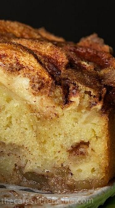 Danish Apple Cake - I would serve this with a thin Cherry Sauce (traditional)