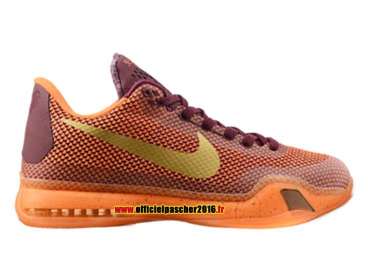 kobe 10 jaune orange color sneakerdiscount