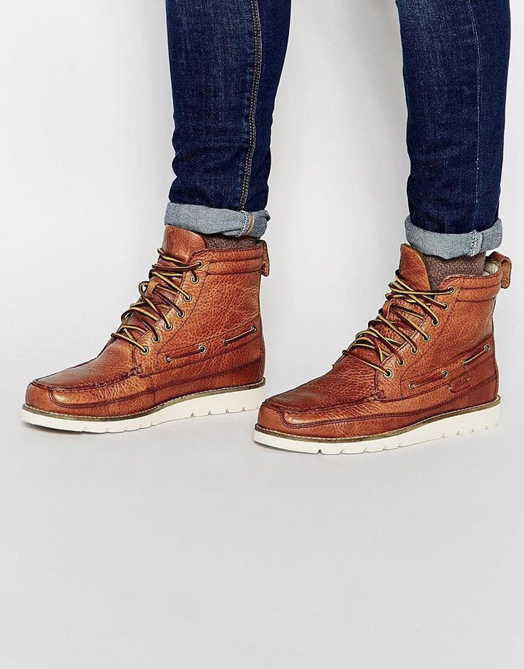 Polo Ralph Lauren Sidney Leather Boots