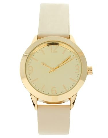 sleek and simple: Asos Patent, Clothing Makeup Accessories, Patent Watches, Accessories Hair Random Things, Jewelry, Gold Watches, Closet, White Gold, I D Wear