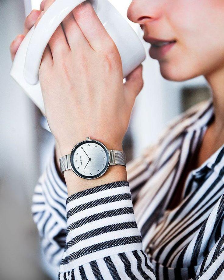Z zegarkiem Bering to spotkanie na pewno będzie udane! #Bering #beringwatch #minimalism #office #zegarek #zegarki #watches #butikiswiss #butiki #swiss