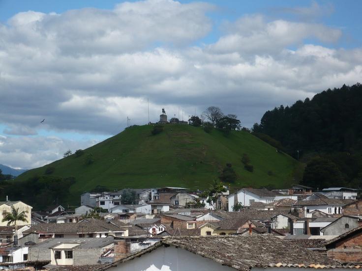 El Cerro del Morro, Popayan
