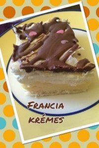 Francia krémes - Bake!Ann