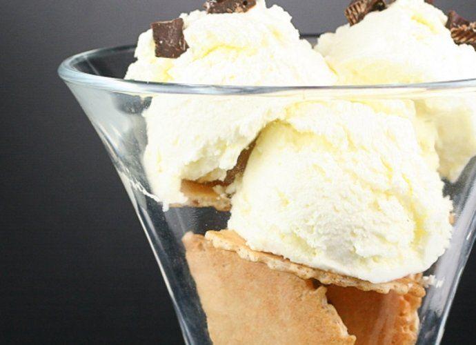 Helado de vainilla para #Mycook http://www.mycook.es/cocina/receta/helado-de-vainilla