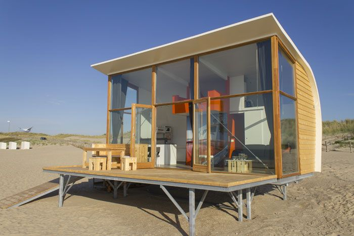 images of tiny house living | The cabins have an open plan design with a beautiful, panoramic view ...