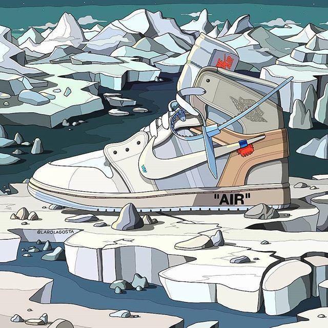 OFF WHITE X Nike Air Jordan 1 W 2020