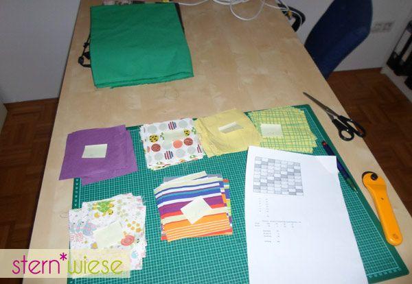 patchworkdecke-zuschneiden