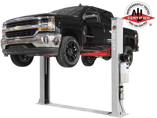 Atlas Platinum Pvl 9bp Ali Certified 9 000 Lb 2 Post Baseplate Car Lift Garage Design Car Lifts Two Post Lift